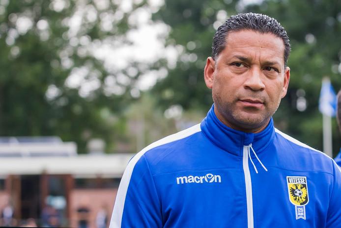 Vitesse-trainer Henk Fraser: met Oud Feyenoord in Wintercup?