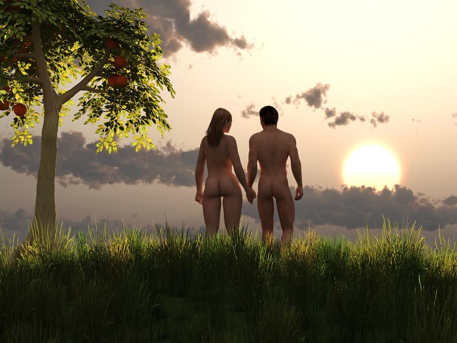 Adán y Eva  Cuatro