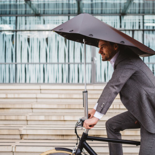 Toch geen subsidie voor fietsparaplu