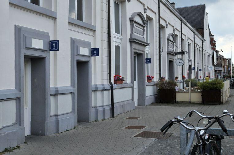 Archiefbeeld. De toiletten op station Turnhout.