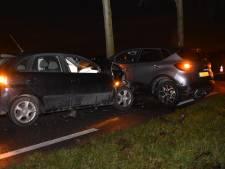 Drie auto's beschadigd bij ongeval op recht stuk weg in Gameren