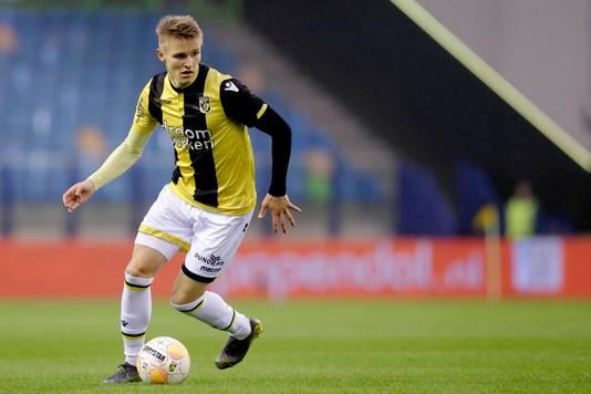 Martin Ødegaard, volgens Dick Advocaat een exceptioneel talent.