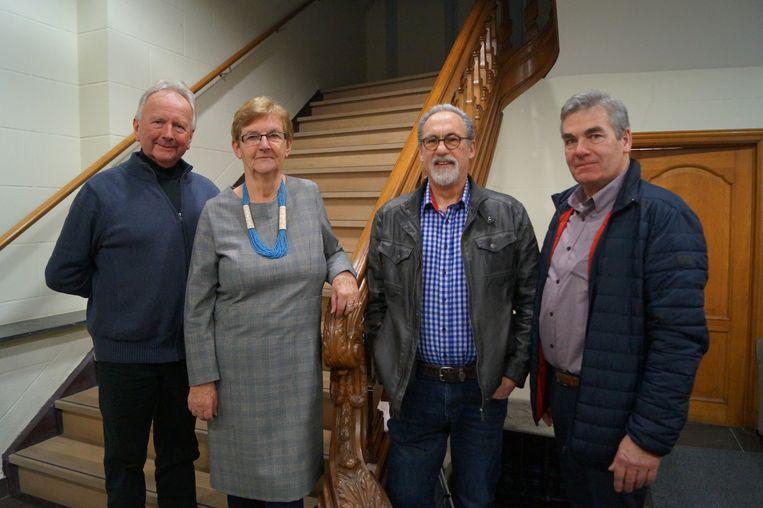 Behalve Marc Arickx neemt ook penningmeester Marleen Goossens afscheid. Zij wordt opgevolgd door Paul Roelens.