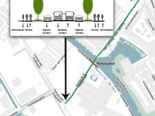 Utrecht stemt in met tunnel in Kanaaldijk bij Mandelabrug