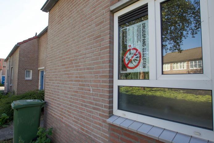 Het afgelopen jaar gingen er in de gemeente Waalwijk 23 panden op slot vanwege een overtreding van de Opiumwet.