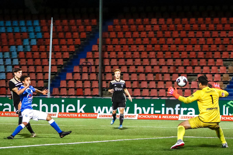 FC Den Bosch zag Jong Ajax in het laatste kwartier langszij komen.