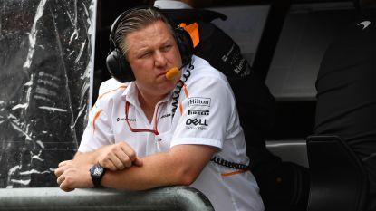 """Grote baas van McLaren steekt hand ook in eigen boezem: """"Stoffel niet het materiaal gegeven waarmee hij zijn talent kon tonen"""""""