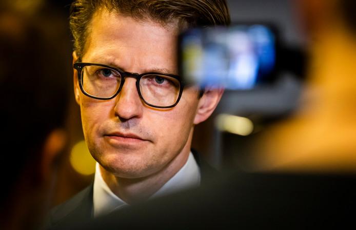 Minister Sander Dekker.
