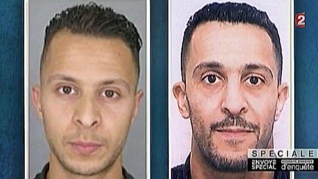 De broers Salah en Ibrahim Abdeslam.