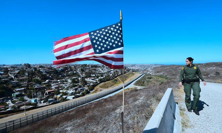 Trump ijvert in eigen land nog altijd voor zijn 'Mexicaanse muur'.