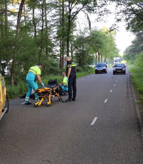 Motorrijder zwaargewond bij botsing met ree in Vessem, ree overlijdt ter plaatse