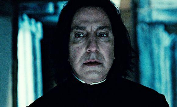 Alan Rickman als Severus Snape.