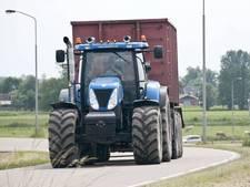 Tractoren in de kom van Alphen: 'Op een kwade dag gaat het mis'