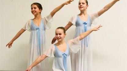 Jonge danseressen Academie Beringen trekken naar internationale wedstrijd 'Petipa'