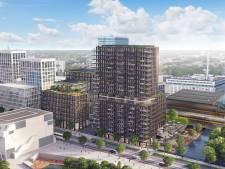 Kantoorgebouw Edge Eindhoven krijgt ook echt vorm, eerste ontwerp online