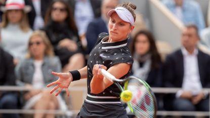 Roland Garros-finaliste Marketa Vondrousova geeft forfait voor US Open
