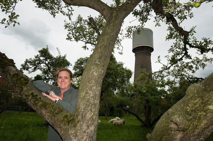 Marieke wil een opvang voor autistische kinderen beginnen in de Culemborgse watertoren.