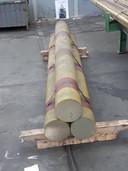 Een voorbeeld van een eindproduct van LDM, dat als halffabricaat naar een producent van bijvoorbeeld gebruiksvoorwerpen ging.