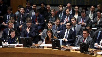 VS willen stemming over VN-resolutie gifgasaanval Syrië