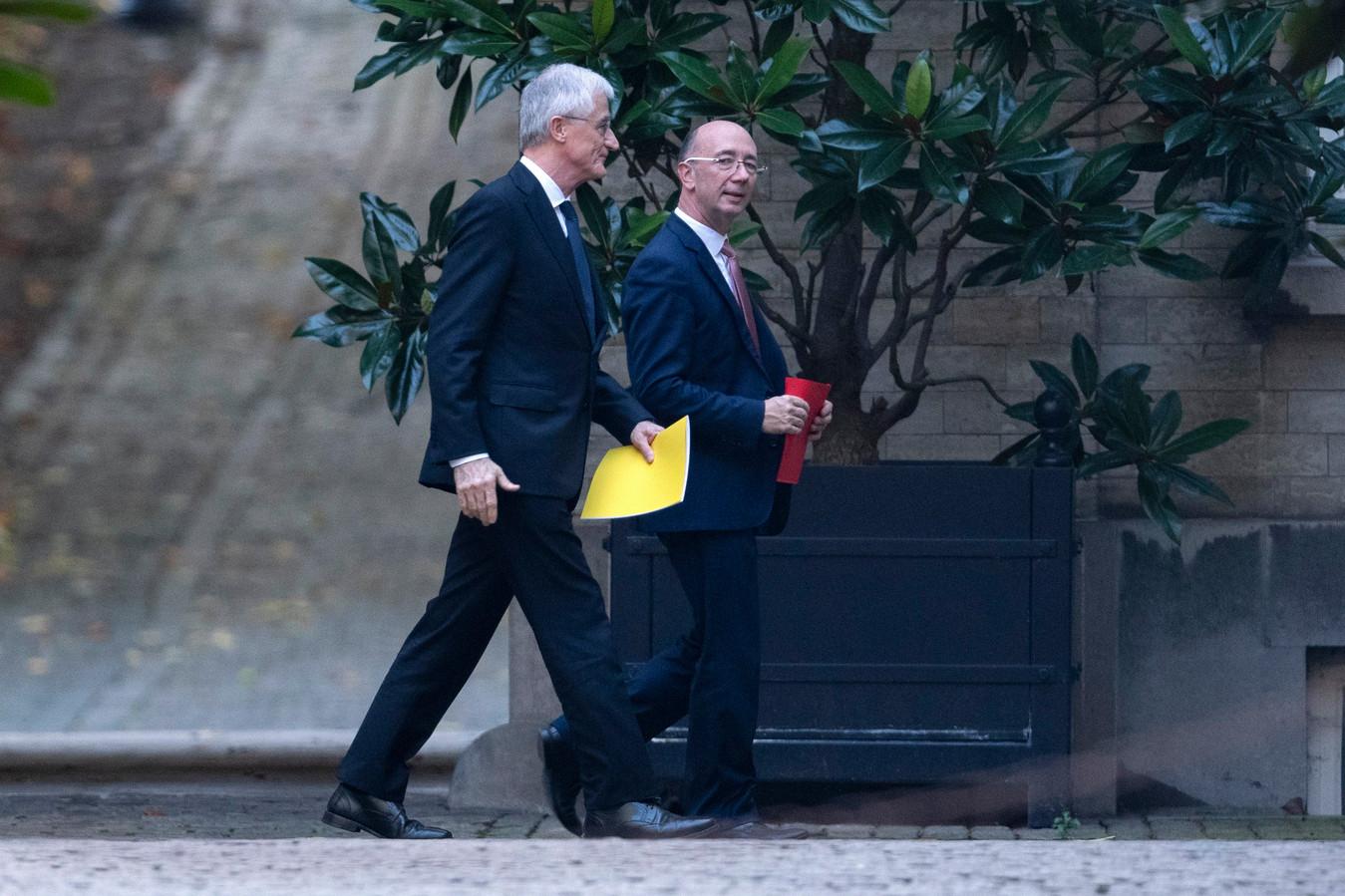 Geert Bourgeois et Rudy Demotte.