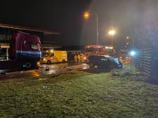 Man komt om het leven bij botsing met truck in Nijkerk