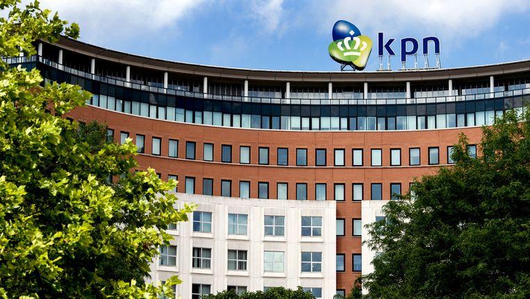 Het hoofdkantoor van KPN in Den Haag. Beeld anp