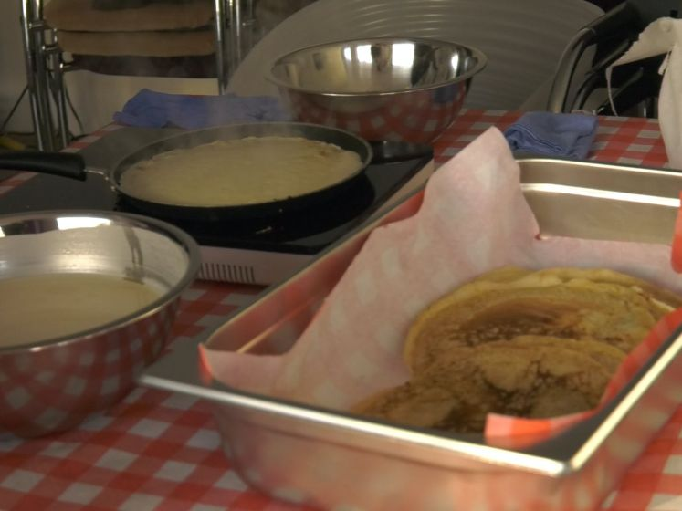 Gratis pannenkoeken tijdens Sint Pannekoek in Rotterdam
