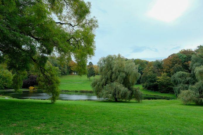 Park van Woluwe. Dit is een illustratiebeeld.