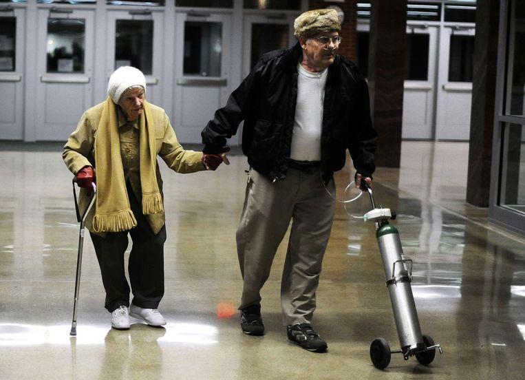 Amerikaanse 85-plussers leven steeds langer. Beeld afp