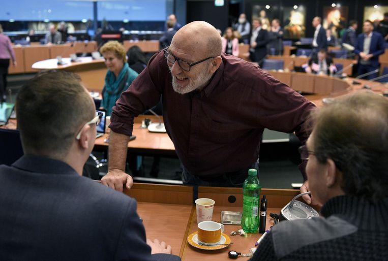 Vergadering in het provinciehuis. Beeld Marcel van den Bergh / de Volkskrant