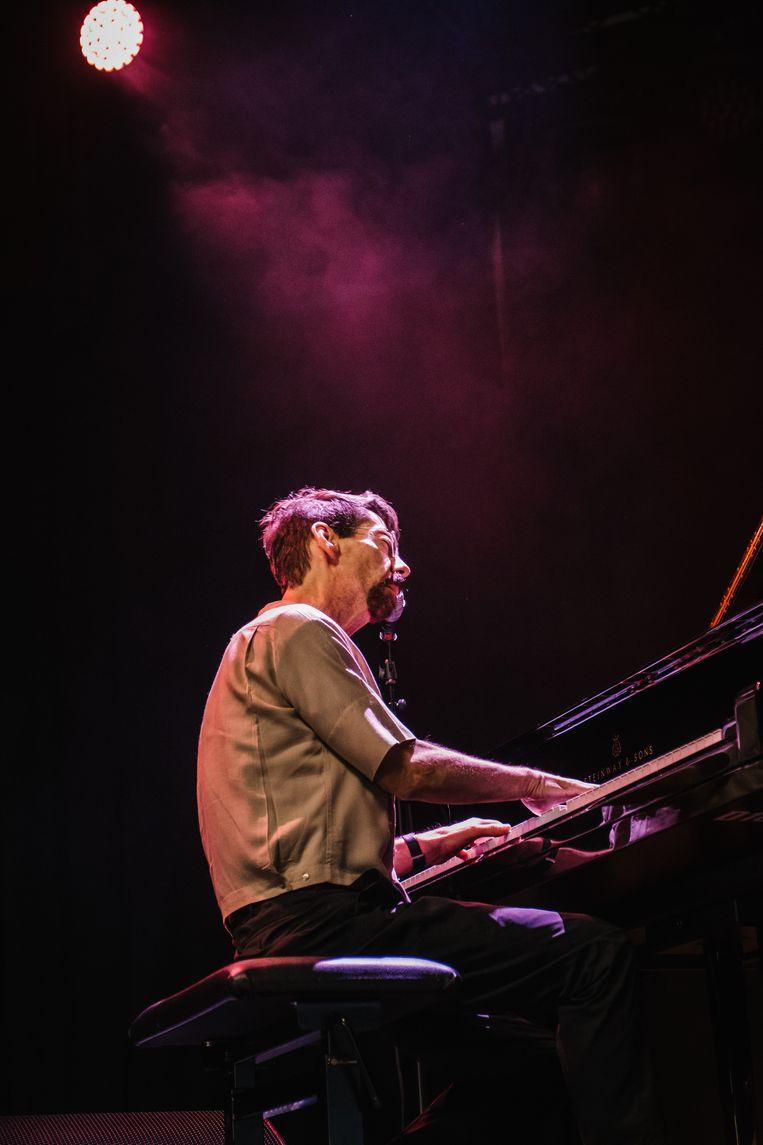 Fred Hersch op Jazz Middelheim. Beeld Wouter Van Vooren