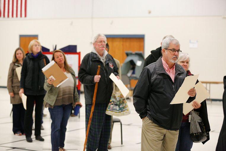Kiezers in Bloomington, Indiana.