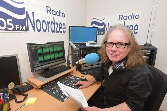 Frank Vermang bij Radio Noordzee