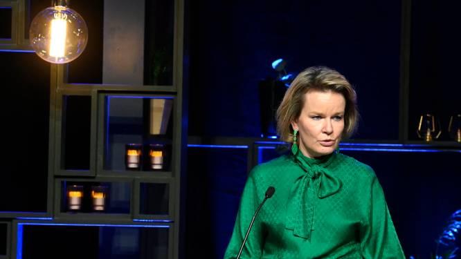 """Koningin Mathilde waarschuwt: """"Uit deze pandemie kunnen we lessen trekken"""""""