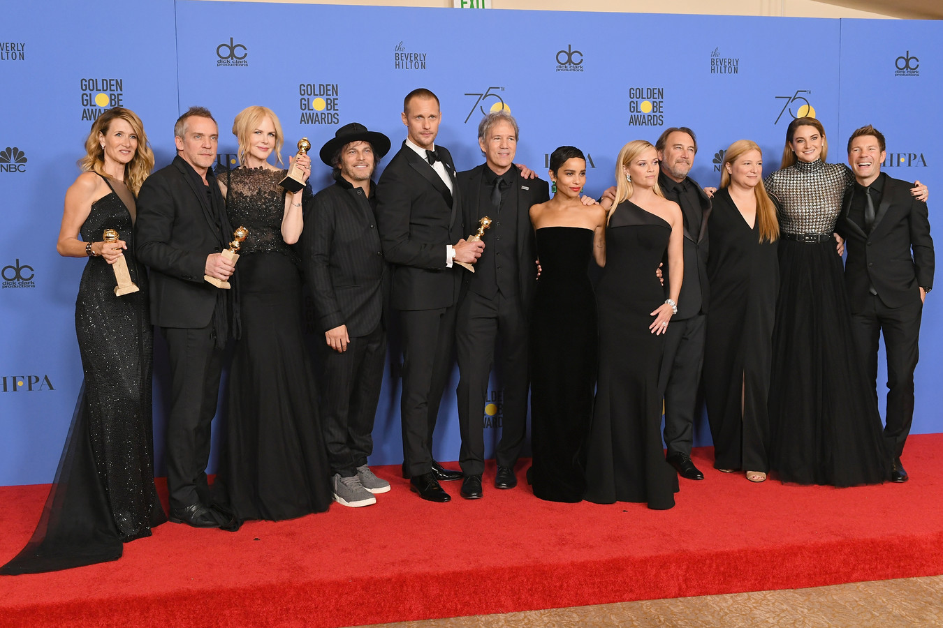 Golden Globes 2018, Big Little Lies cast