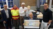 Rode Kruis krijgt cheque van 1.750 euro van Cera