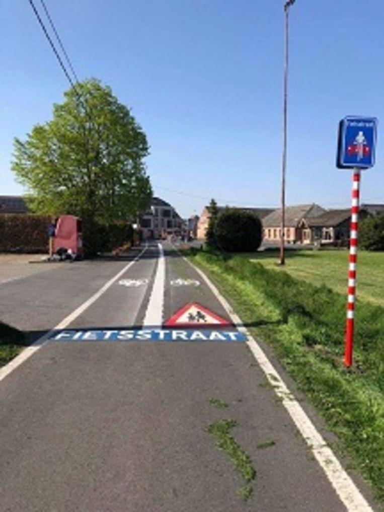 De Kroonstraat wordt een fietsstraat.
