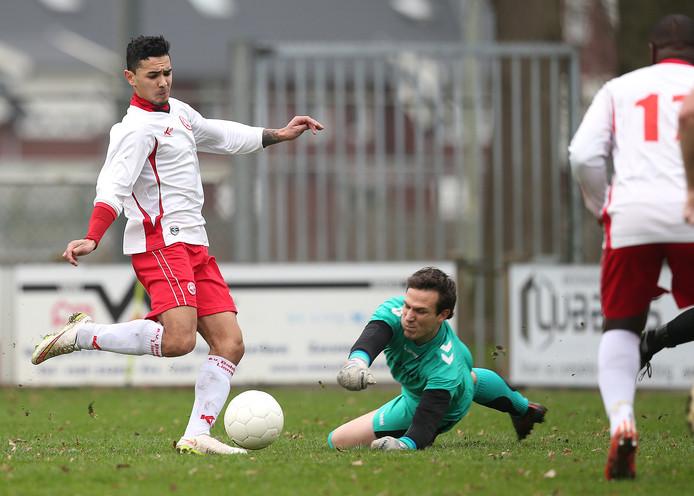 Babberich-Ajax Breedenbroek: 1-3. Archieffoto.
