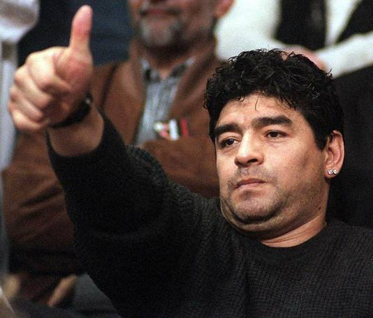 Diego Maradona in 1999