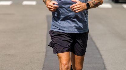 Michael loopt 1.000 km in 100 dagen