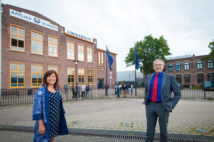 Directeuren Maggie Feng en Peter Birdsall hebben de ambitie om Wittenborg ook in de optiek van de Nederlandse overheid een universiteit te laten zijn. De verdere samenwerking met de universiteit van Brighton moet een belangrijke stap naar dat doel zijn.