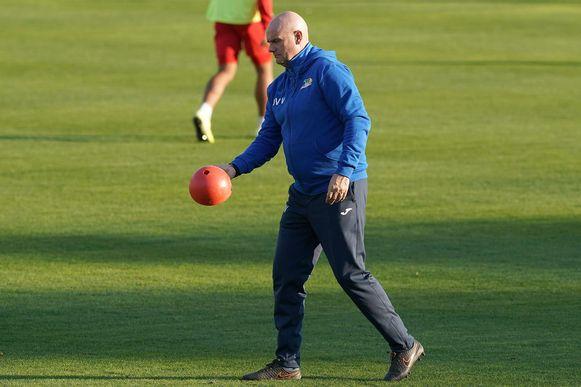 Dennis Van Wijk: «Als we zaterdag niet winnen en Cercle doet dat wel, komen we in de problemen.»