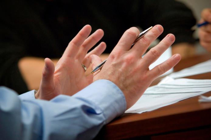 stockadr vergaderen vergadering ondernemer onderneming ondernemen overleg politiek zakenman