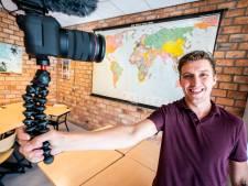 Vloggende meester Roy is aardrijkskundeleraar van het jaar, maar het liefst staat hij voor de klas