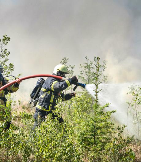 Natuurbrandgevaar: code rood in de regio