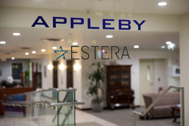 Het gebouw van advocatenkantoor Appleby op Bermuda. Beeld Getty Images