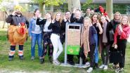 Leerlingen Mater Dei ontwerpen ludieke vuilnisbakken