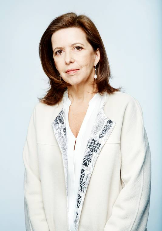 Sophie Bellon, voorzitter van de raad van bestuur van Sodexo.