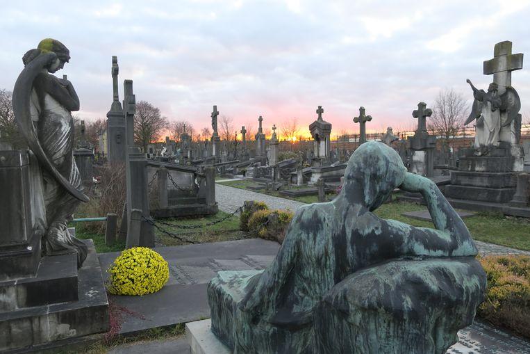Het oudste deel van de begraafplaats is beschermd als monument.