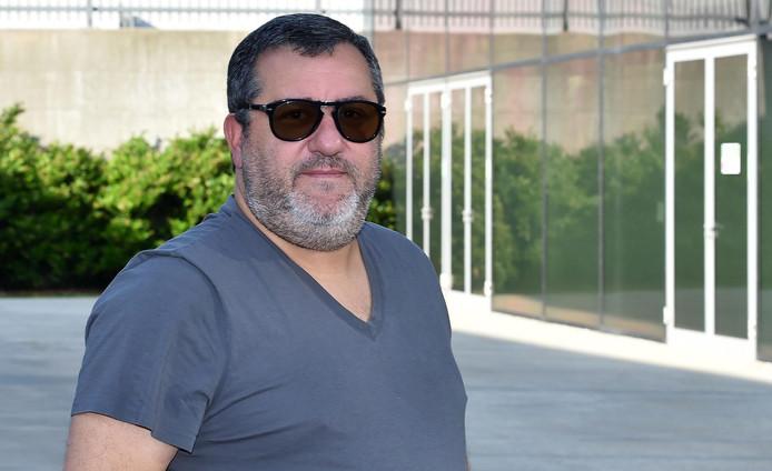 Mino Raiola, célèbre agent de joueurs.